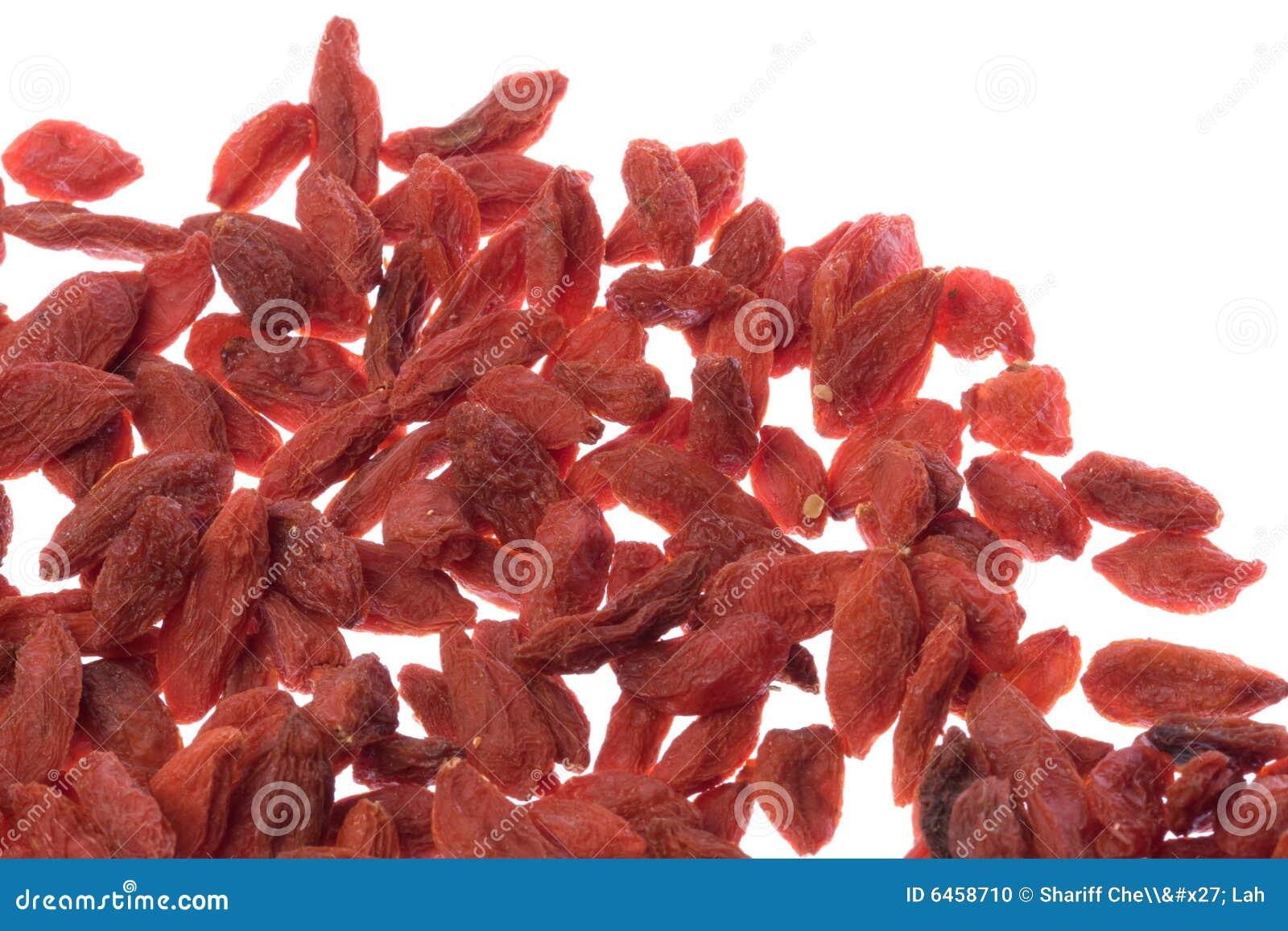 Zielarscy wolfberries chińscy makro
