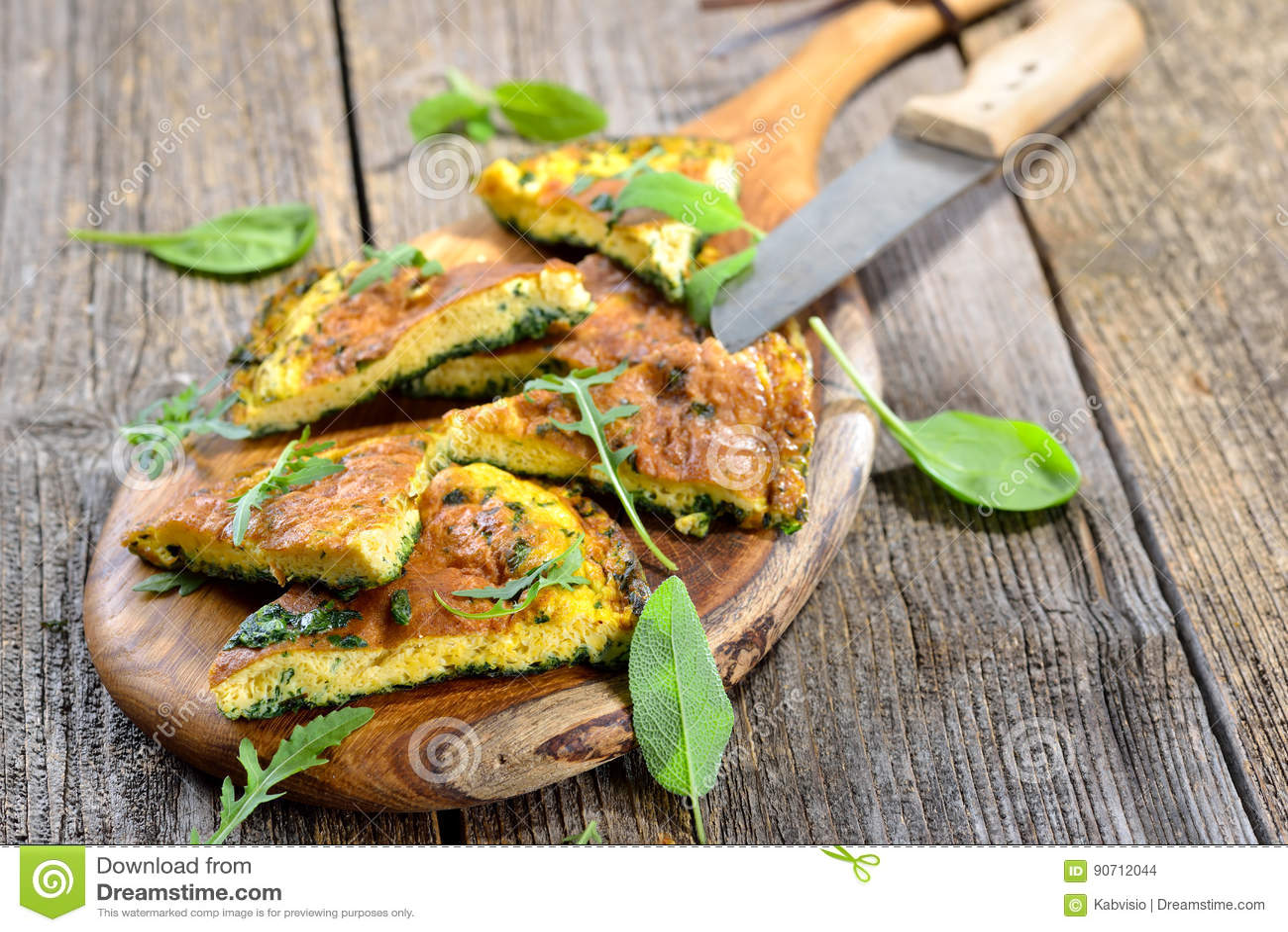 Zielarski omelette