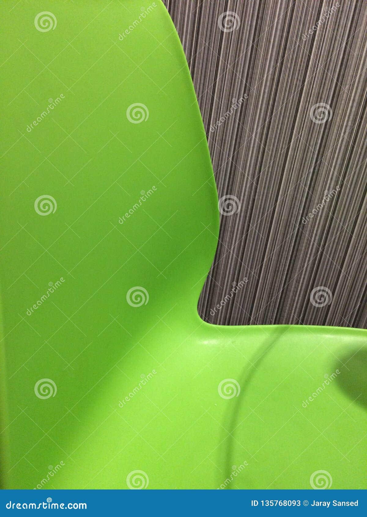 Zieleni krzesła