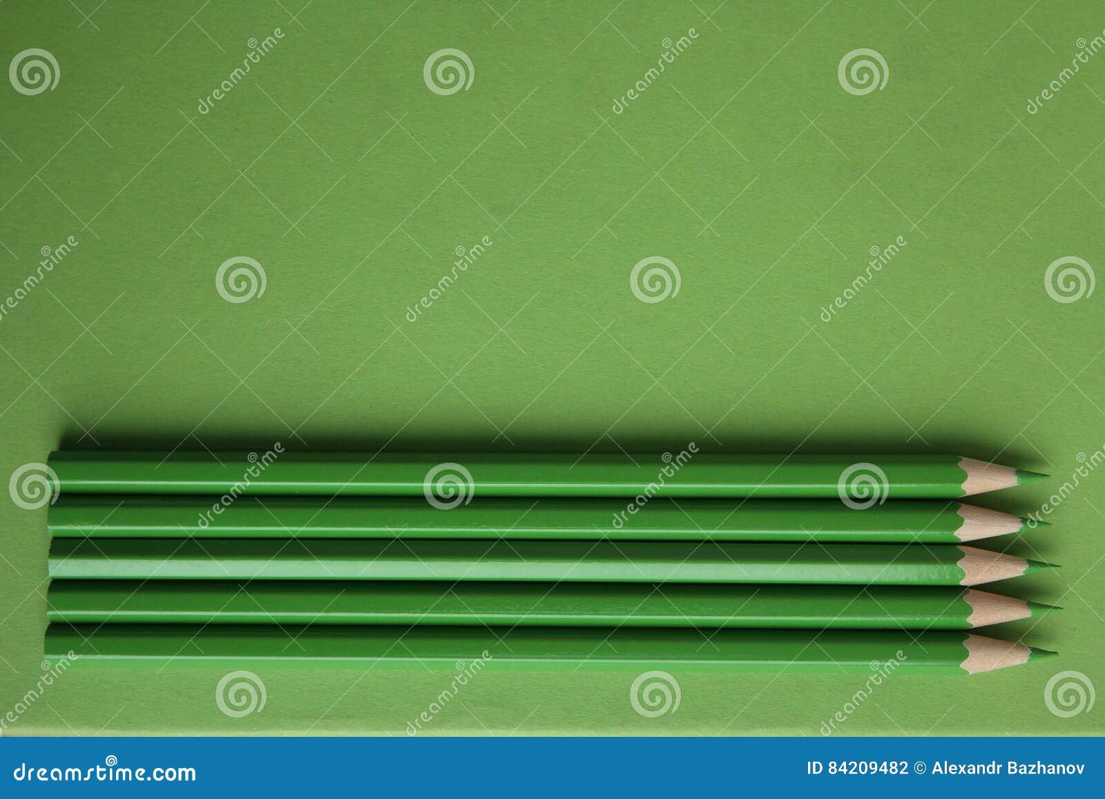 Zieleni ołówki