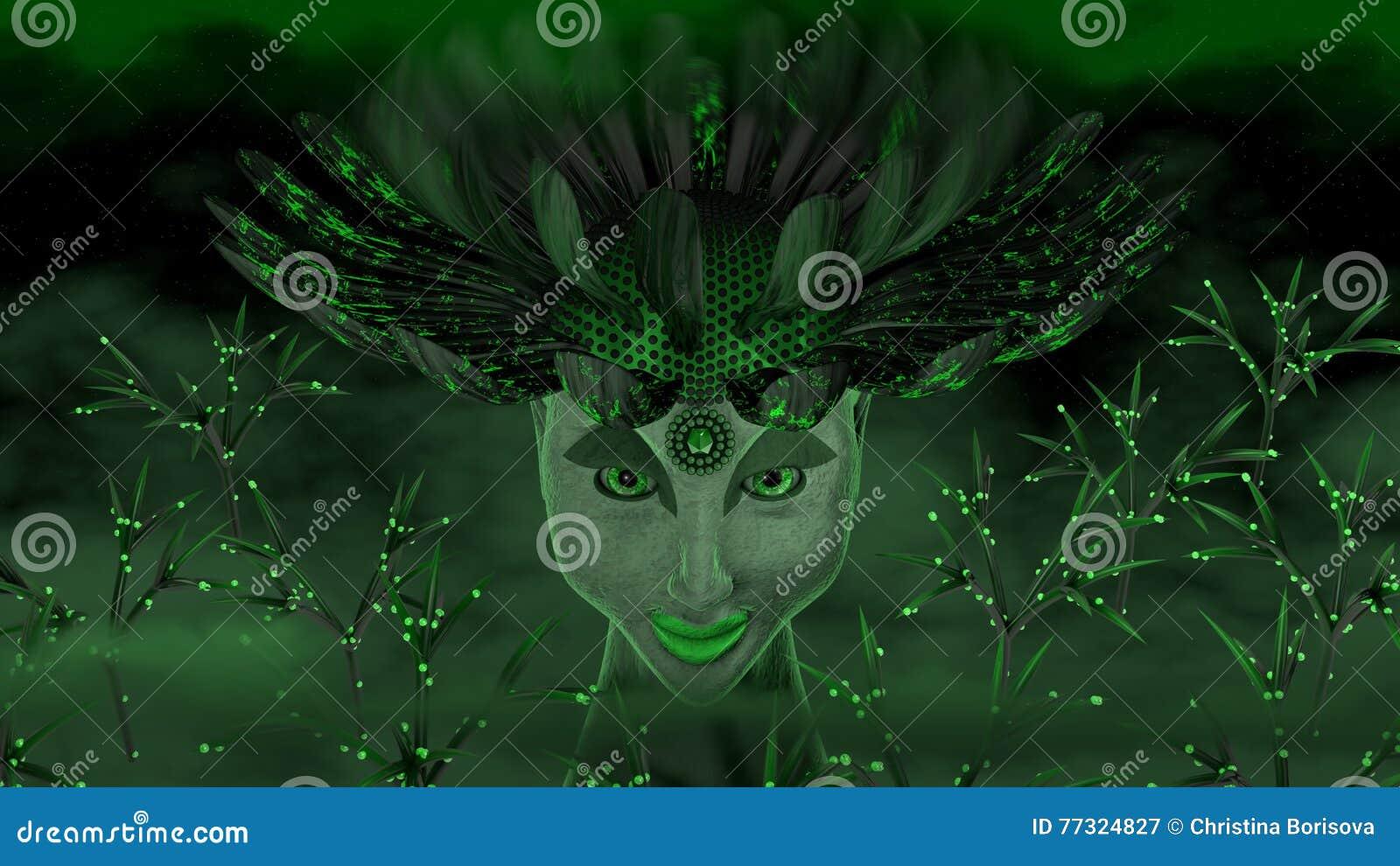 Zielona bogini