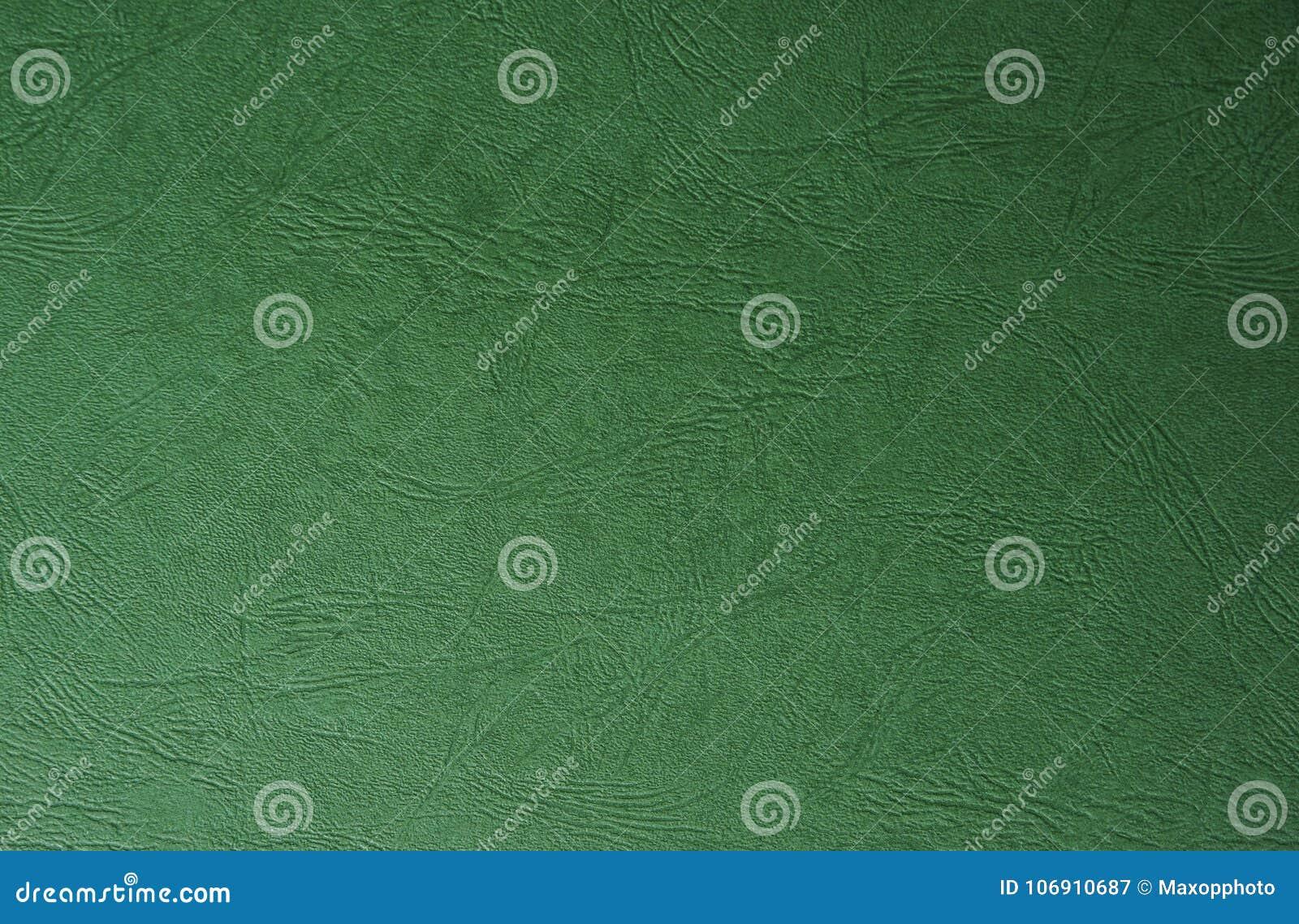Zielona farby skóry tekstura Pożytecznie dla abstrakcjonistycznego tła z kopii przestrzenią
