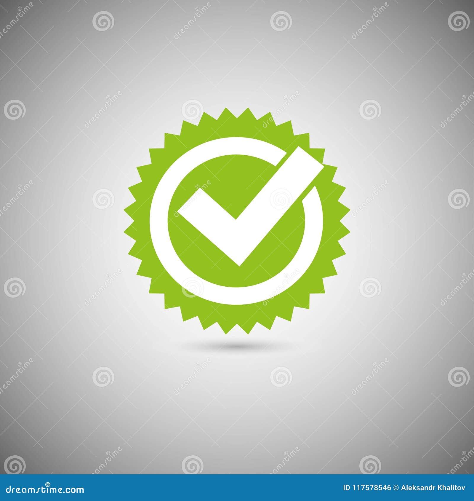 Zielona kleszczowa oceny ikona