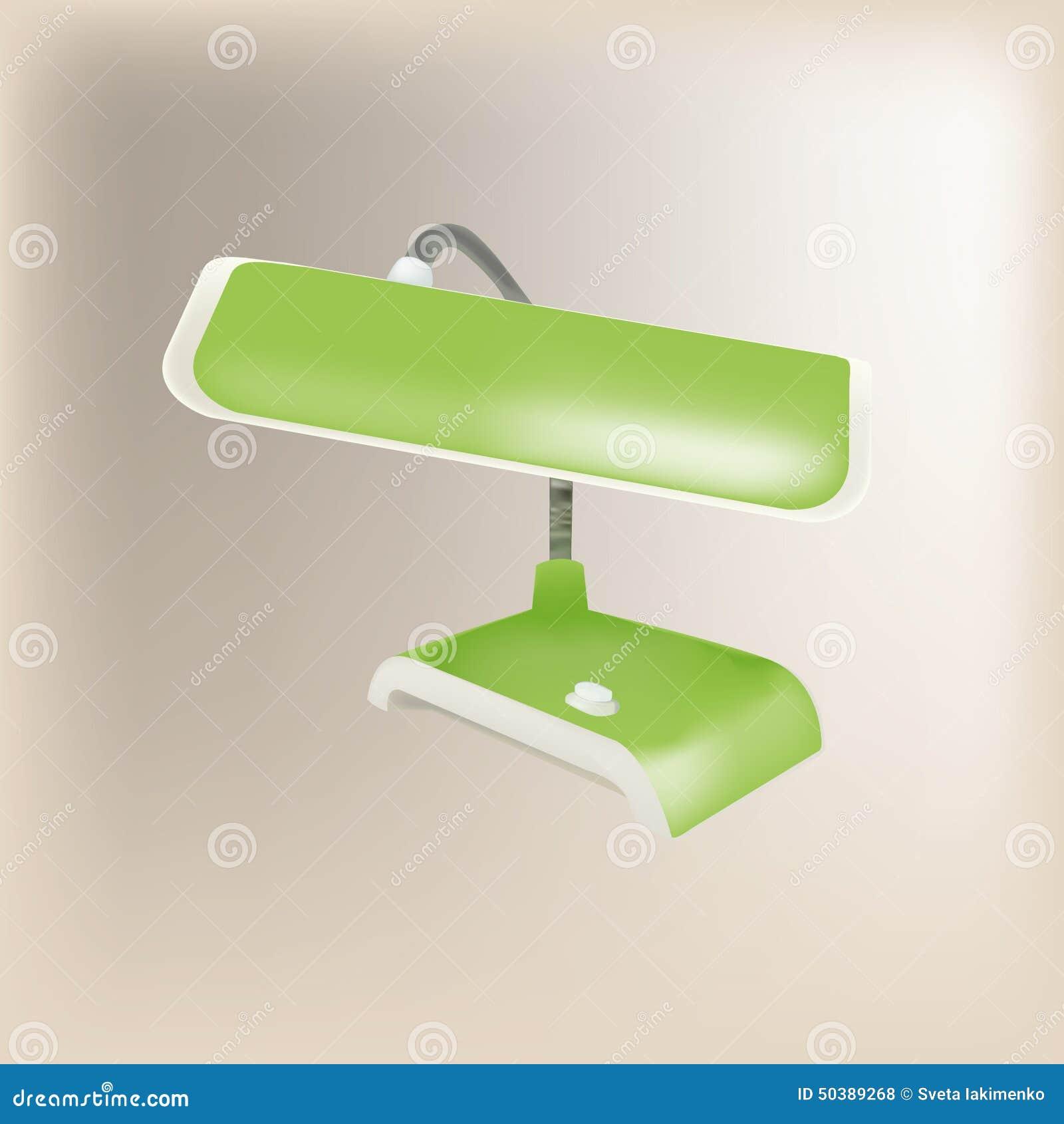 Zielona lampa