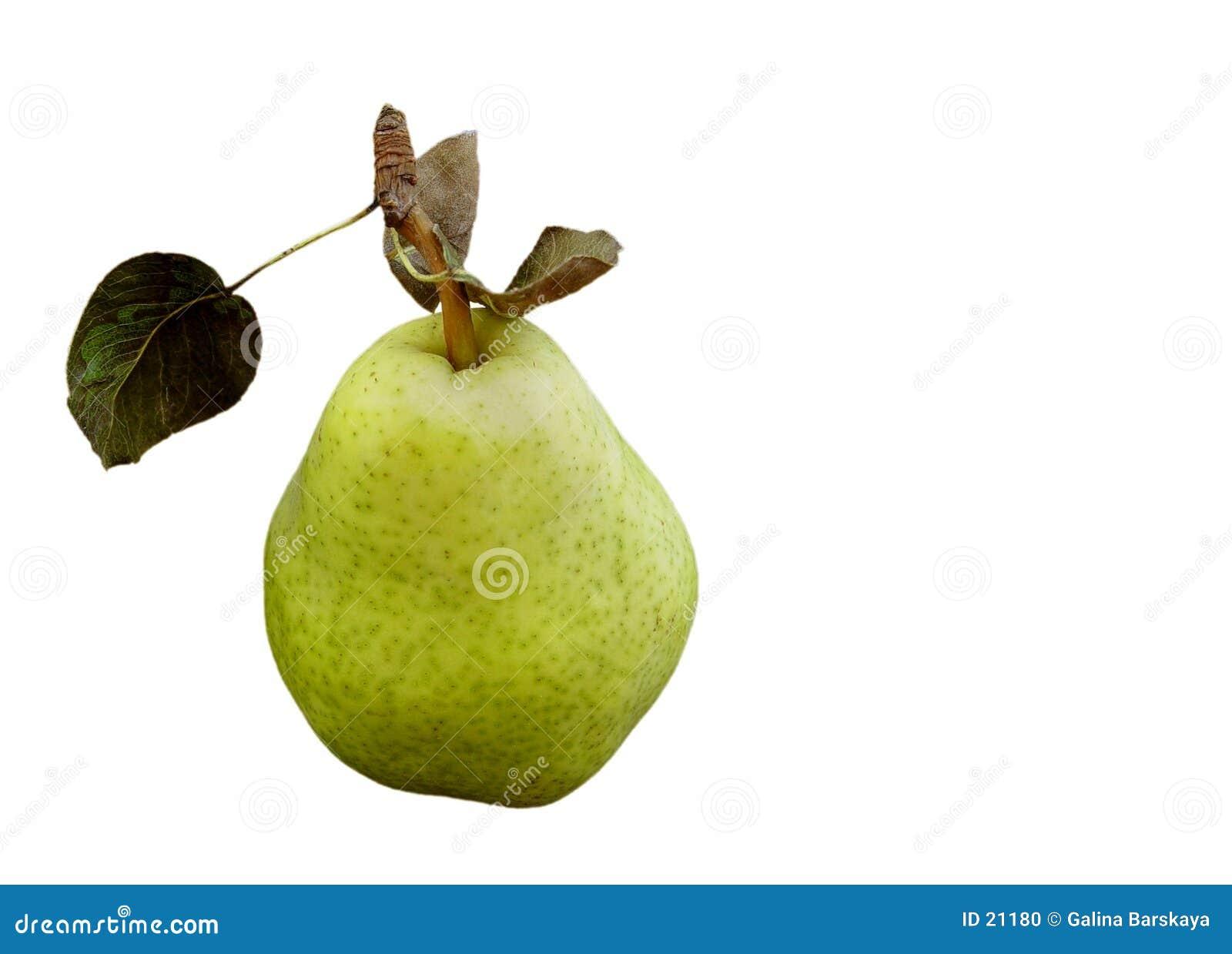 Zielona pear