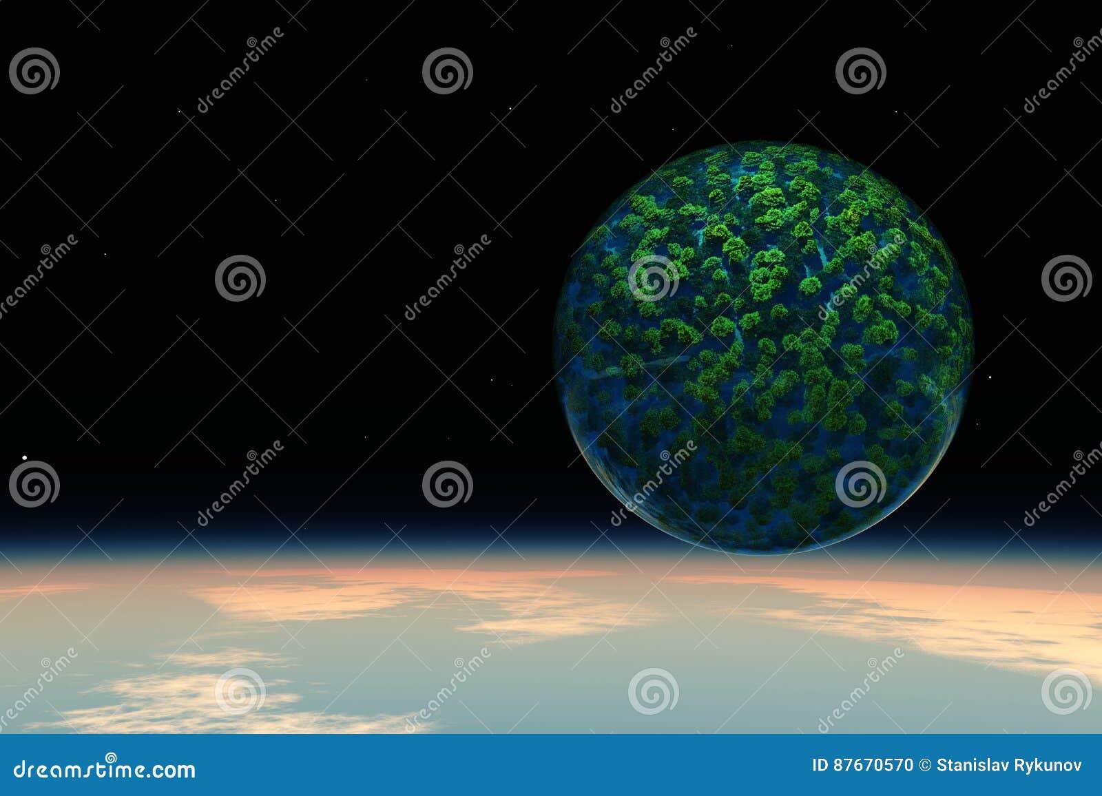 Zielona planety ekologia, natura i