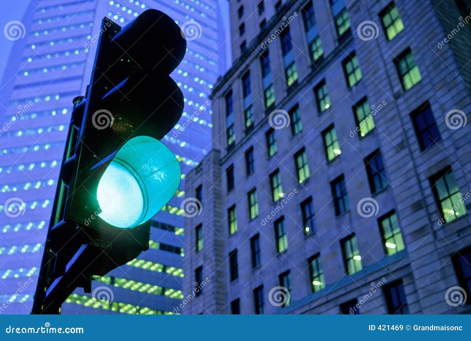 Zielone światło ruchu