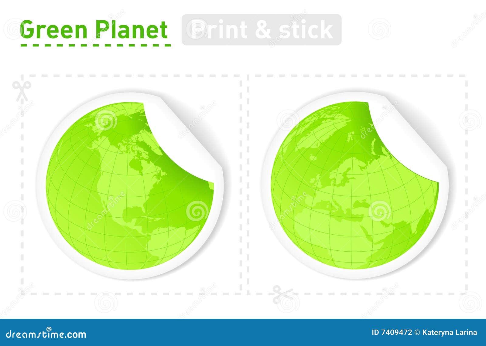 Zielone planety