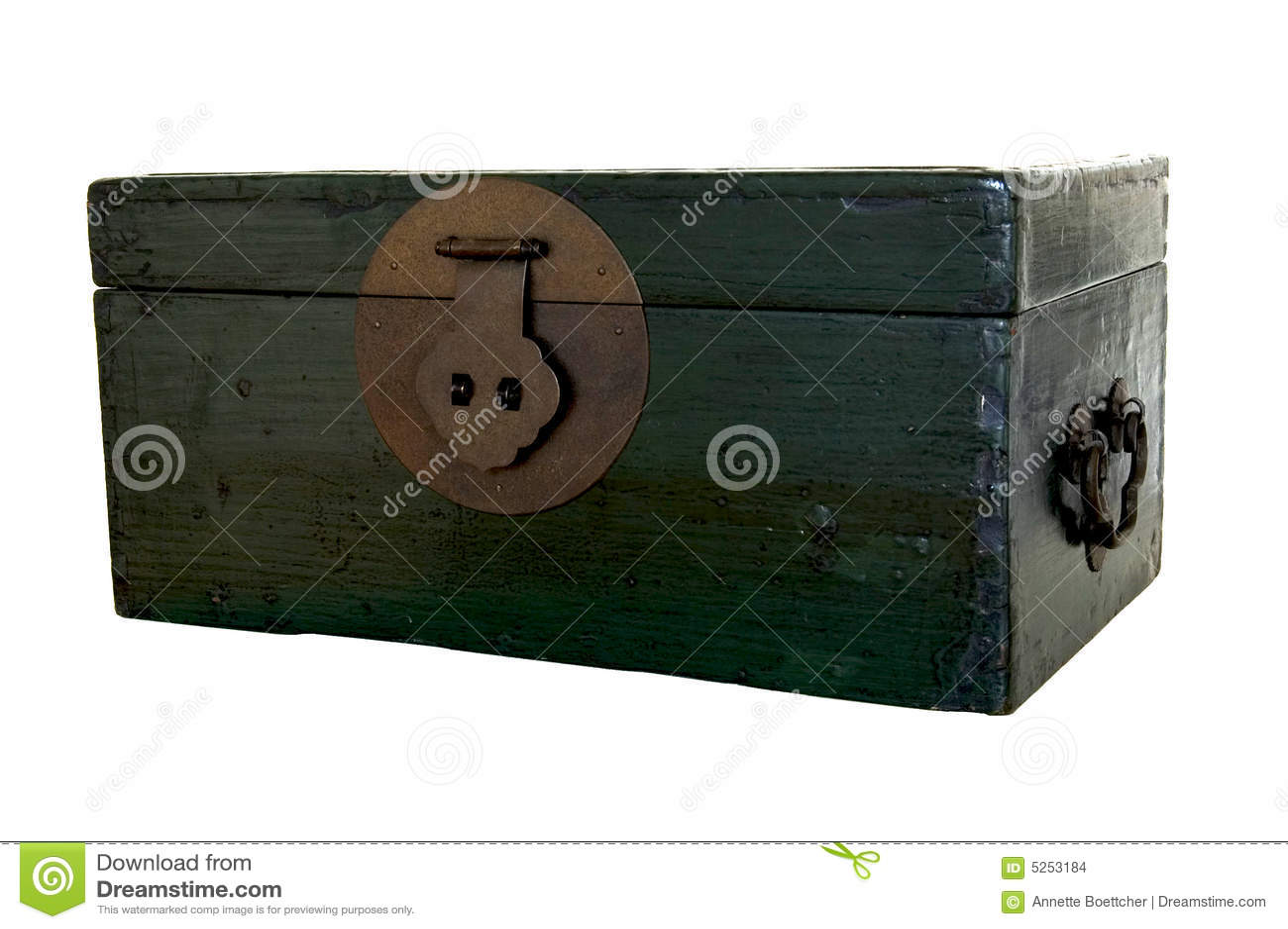 Zielony bagażnik drewna