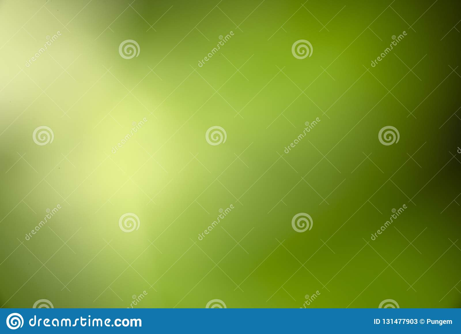 Zielony bokeh zamazujący lekki naturalny