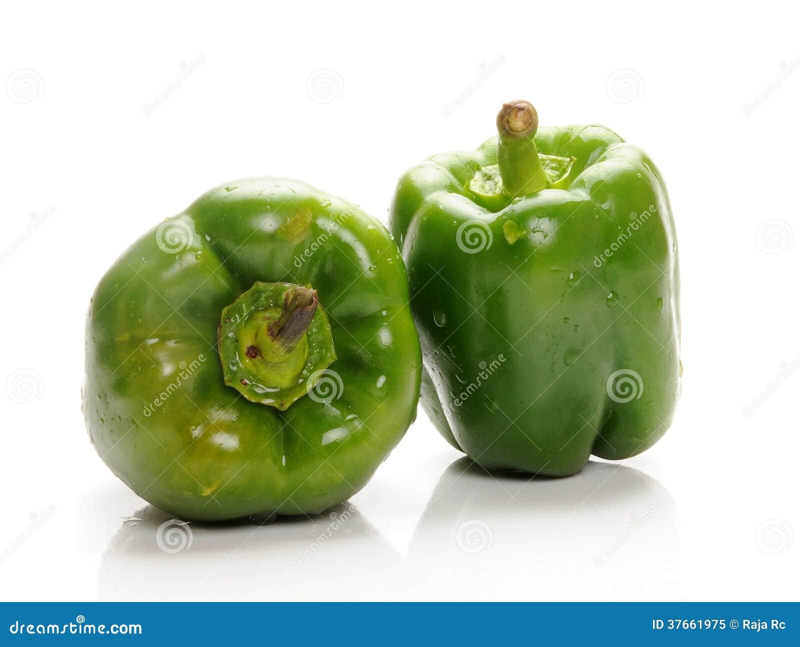 Zielony capsicum