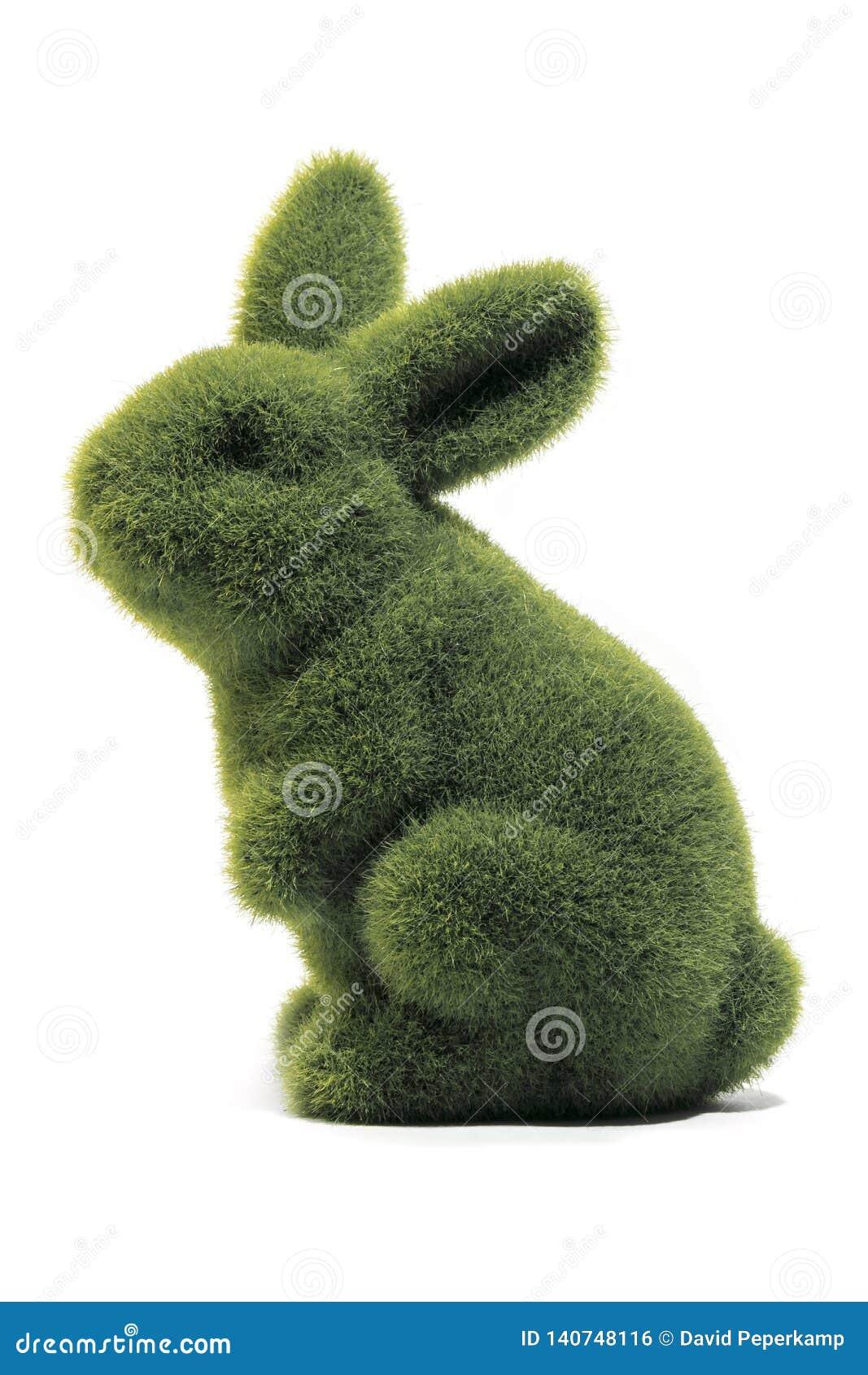 Zielony Easter królik