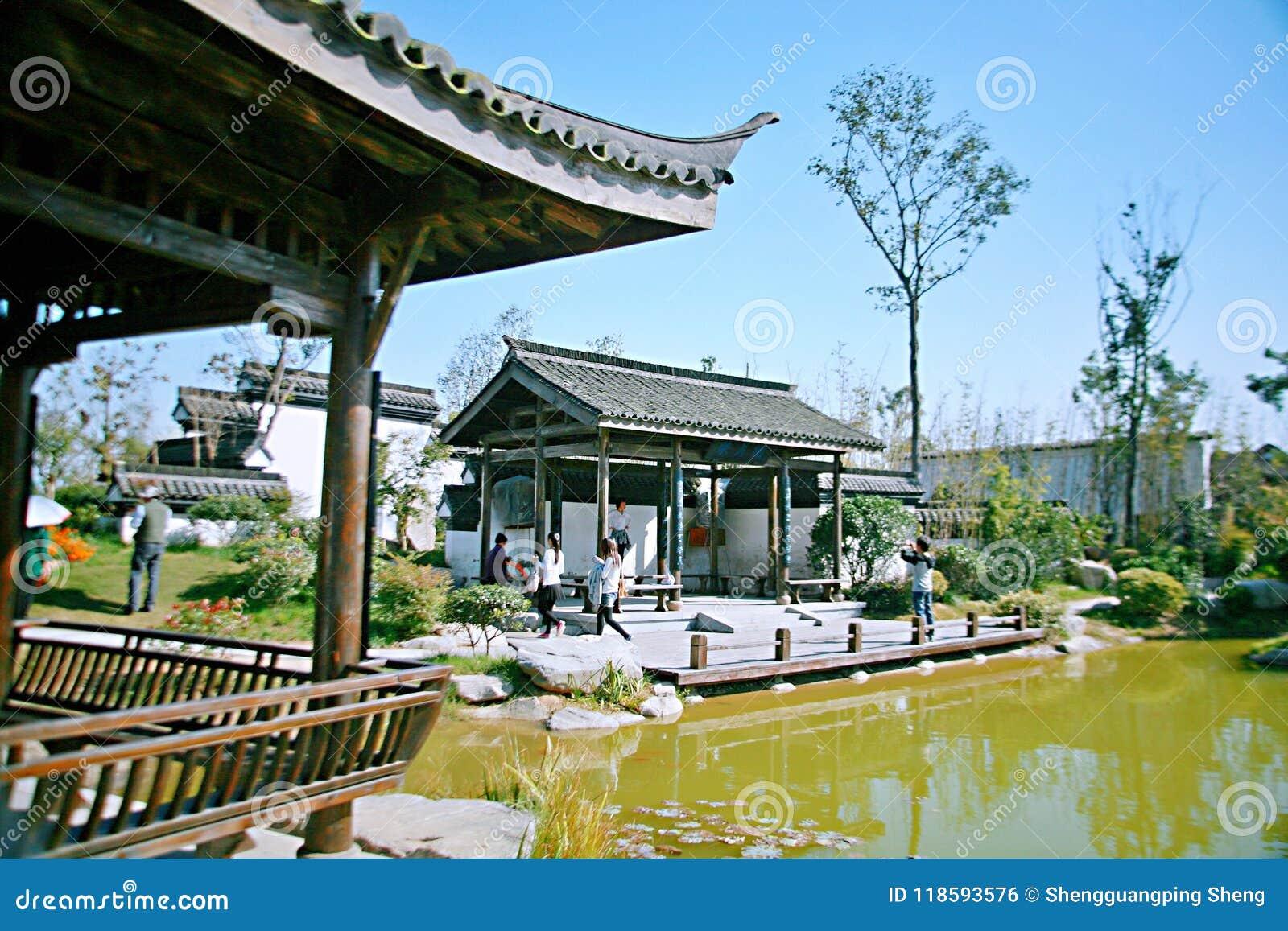 Zielony expo ogród w Zhengzhou