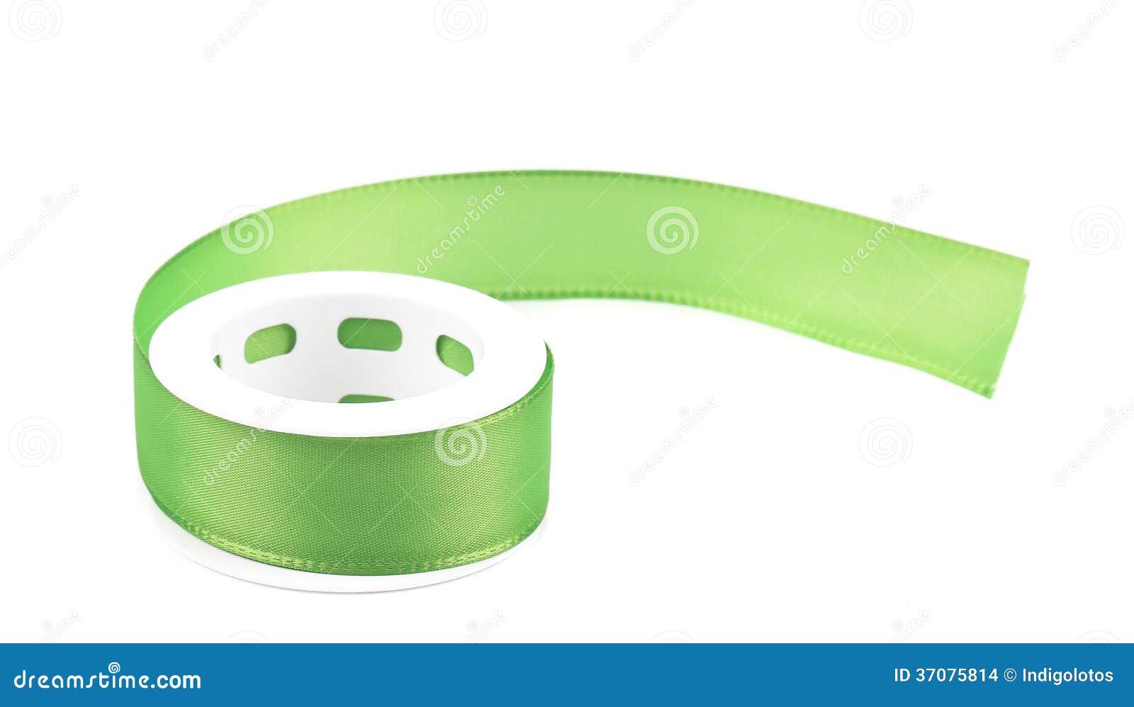 Download Zielony Jedwabniczy Dekoracyjny Faborek. Zdjęcie Stock - Obraz złożonej z obdarzony, wzór: 37075814