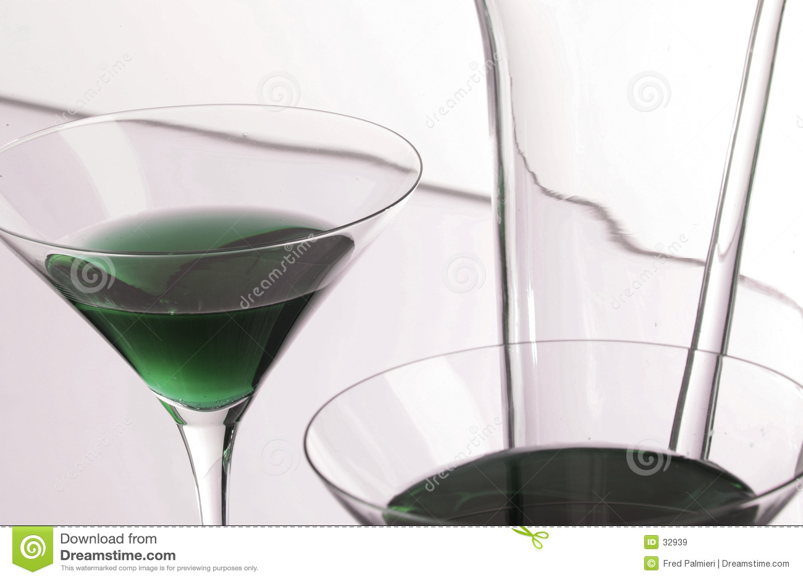 - zielony Martini