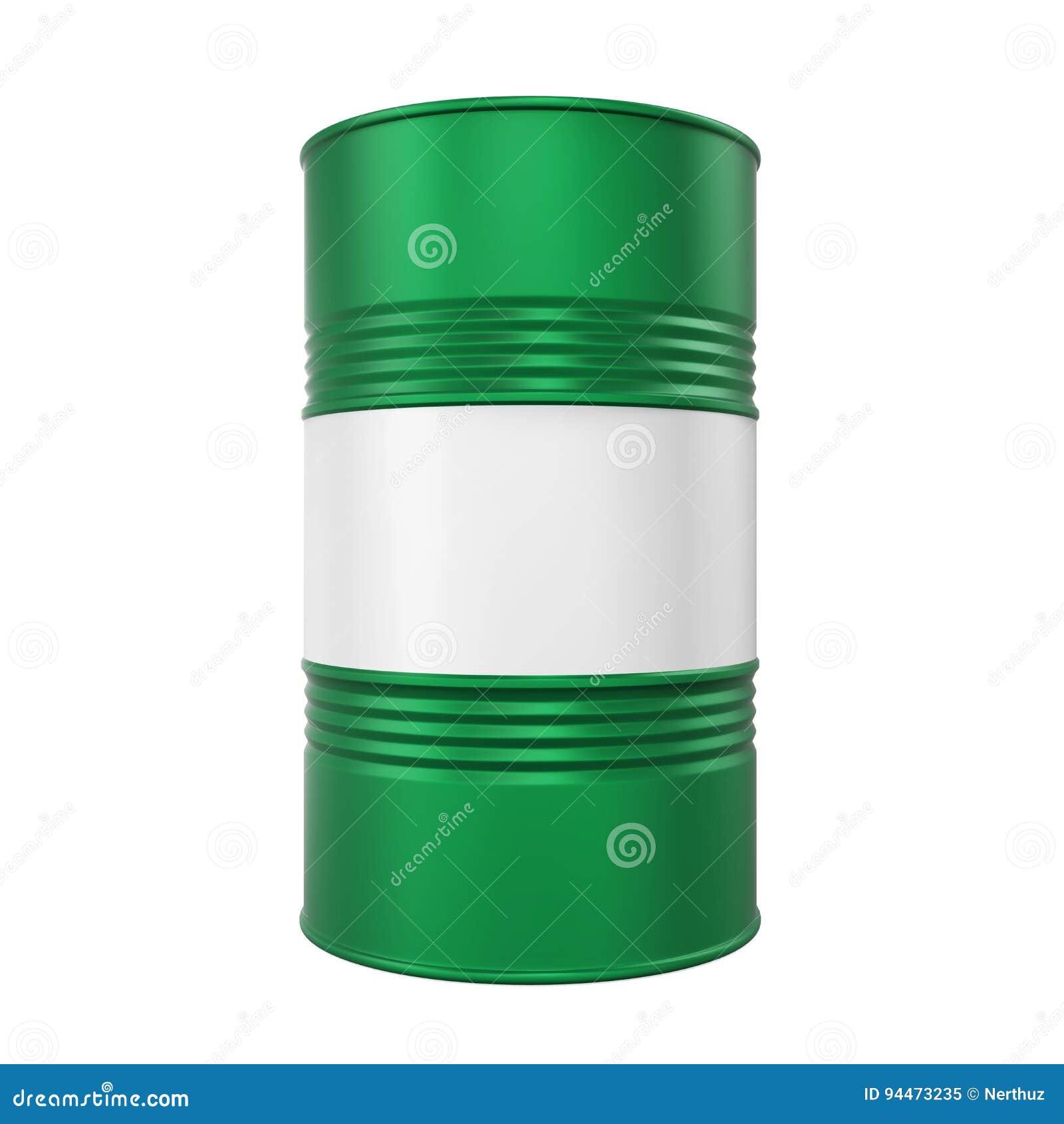Zielony Nafciany bęben Odizolowywający