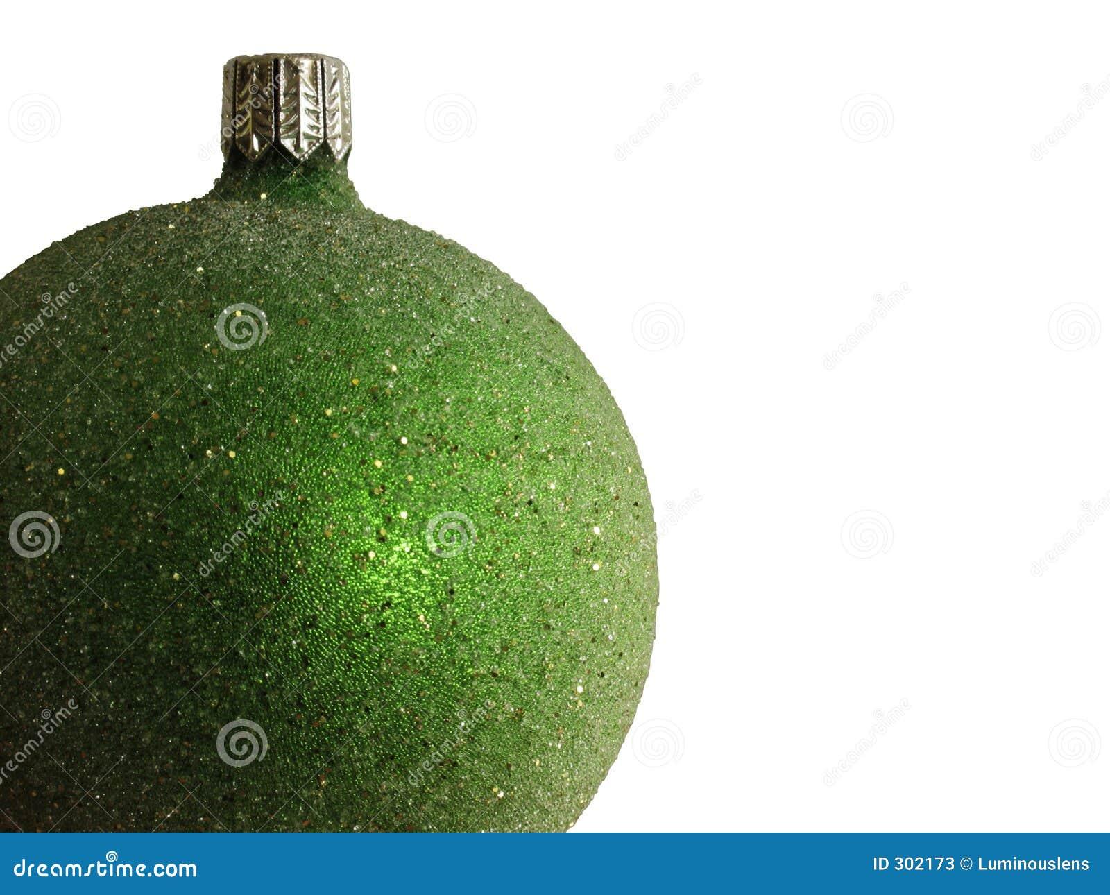 Zielony ornament