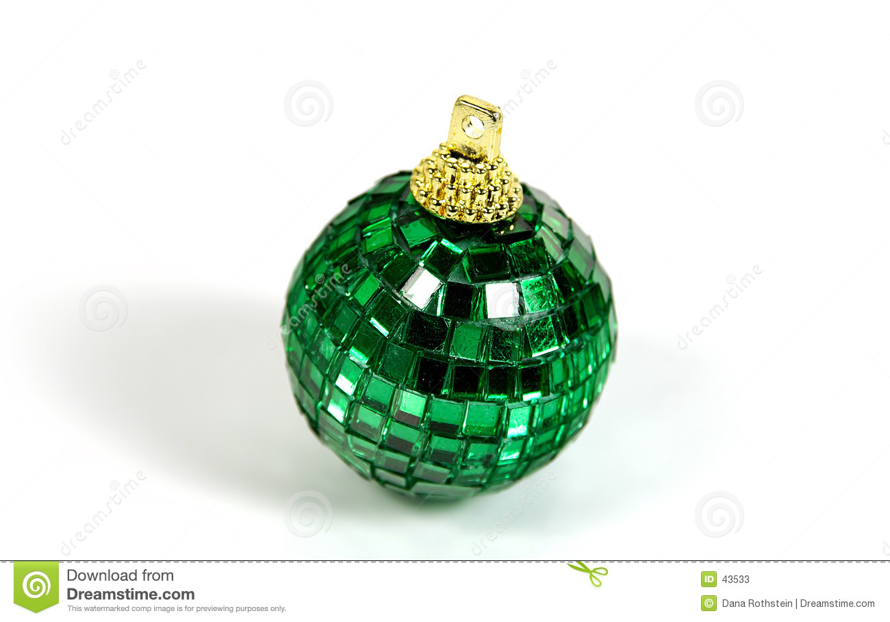Zielony ornament