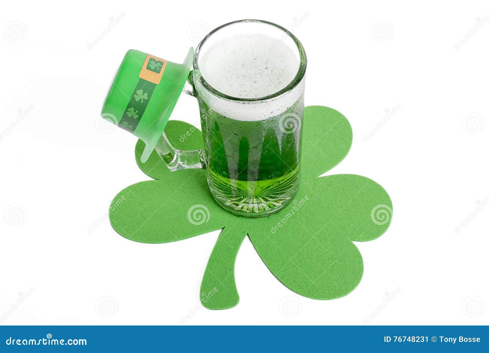 Zielony piwo