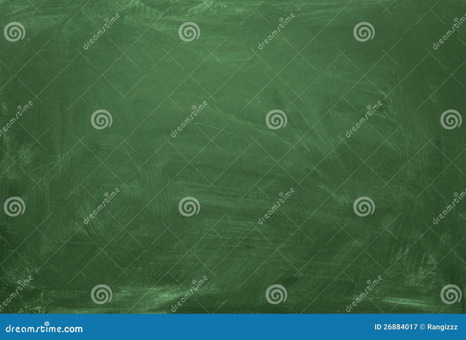 Zielony pustego miejsca chalkboard