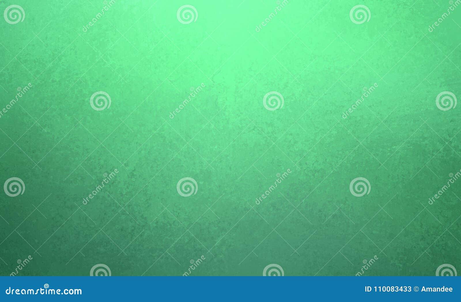 Zielony tło projekt z zmrokiem - błękitnych szarość granica i rocznik tekstura, gradientowy błękitny kolor
