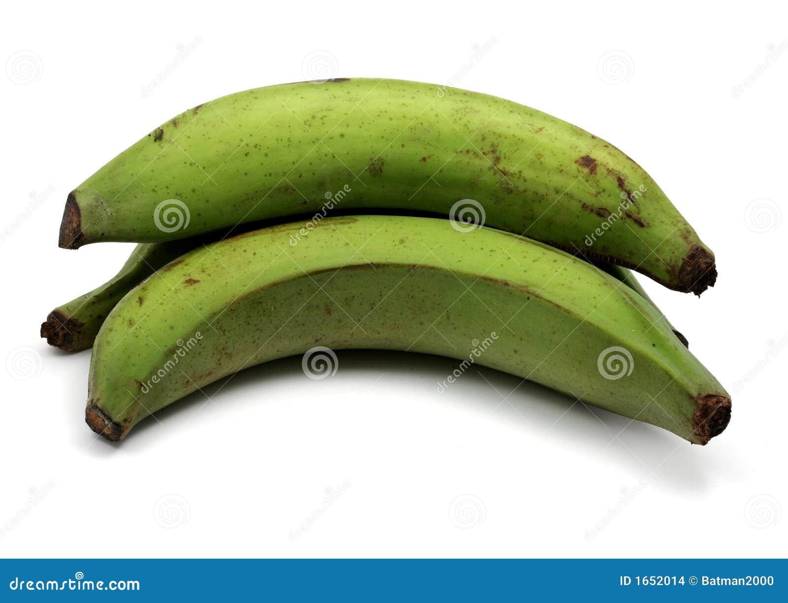 Zielonych bananów