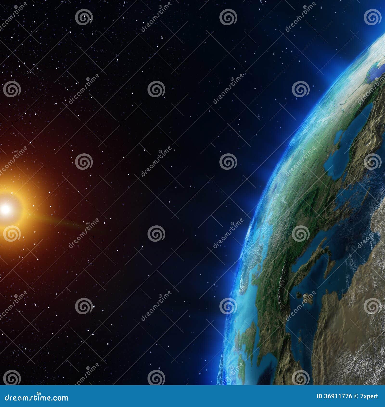 Ziemia od przestrzeni