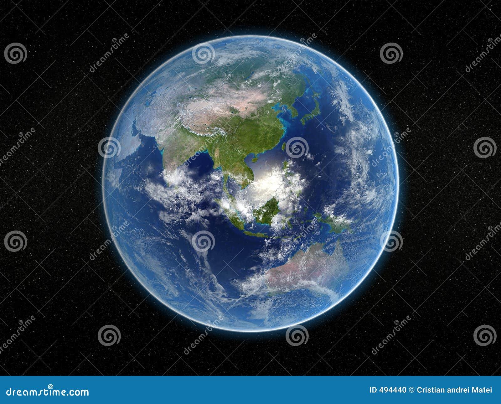 Ziemia photorealistic