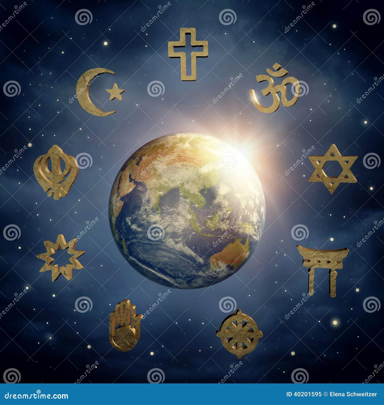 Ziemscy i religijni symbole