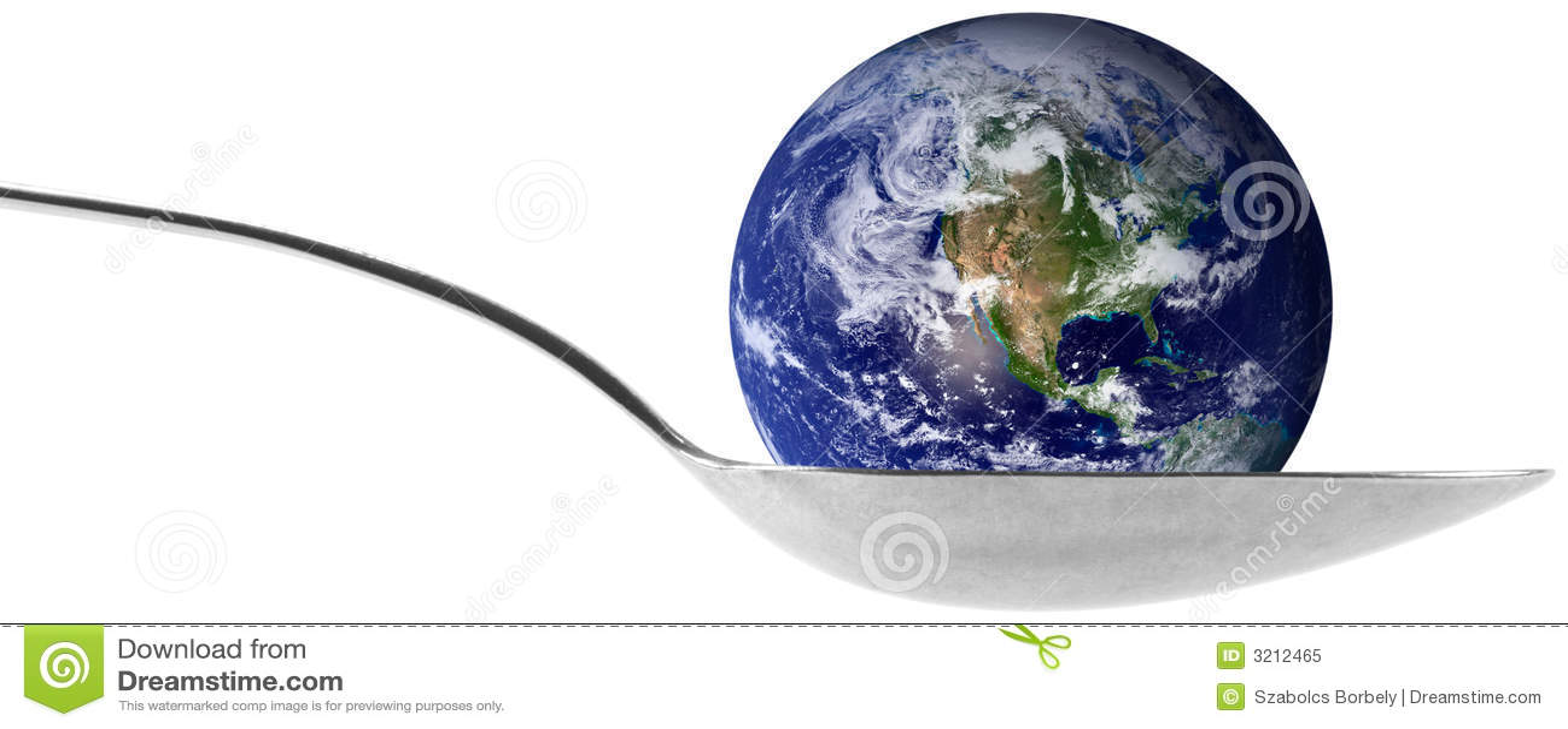 Ziemska globe spoon