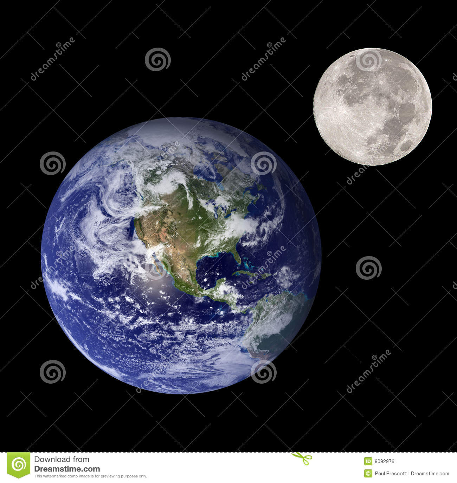 Ziemska księżyc