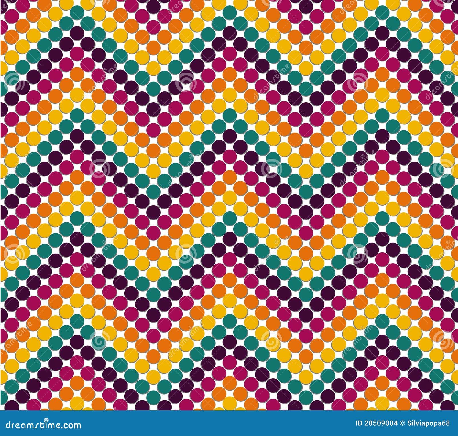 zigzag pattern in cute color stock illustration illustration of illusion retro 28509004. Black Bedroom Furniture Sets. Home Design Ideas