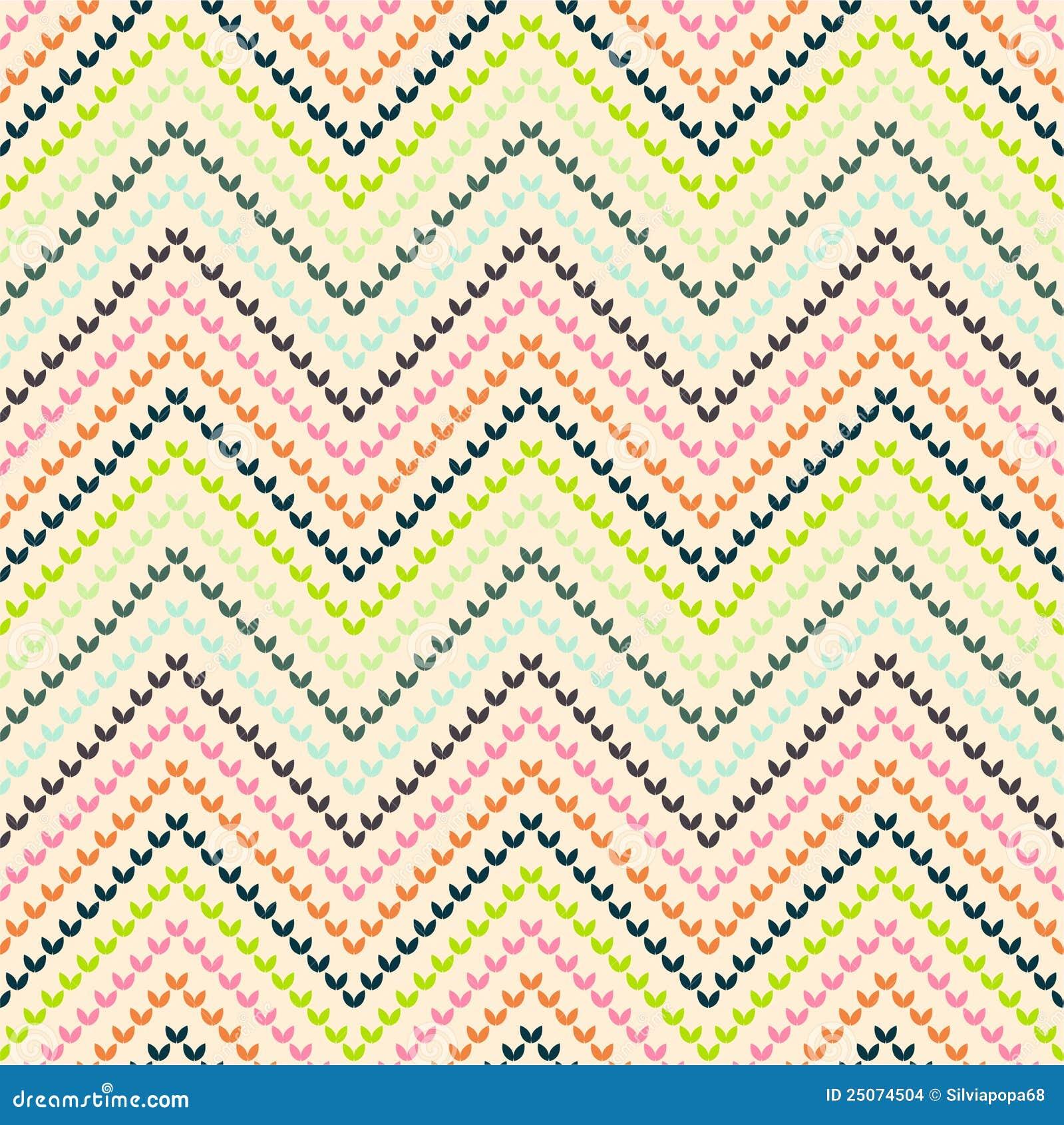 Stock Images Zigzag Pattern Warm Color Image25074504 on Geometric Design Patterns Chevron