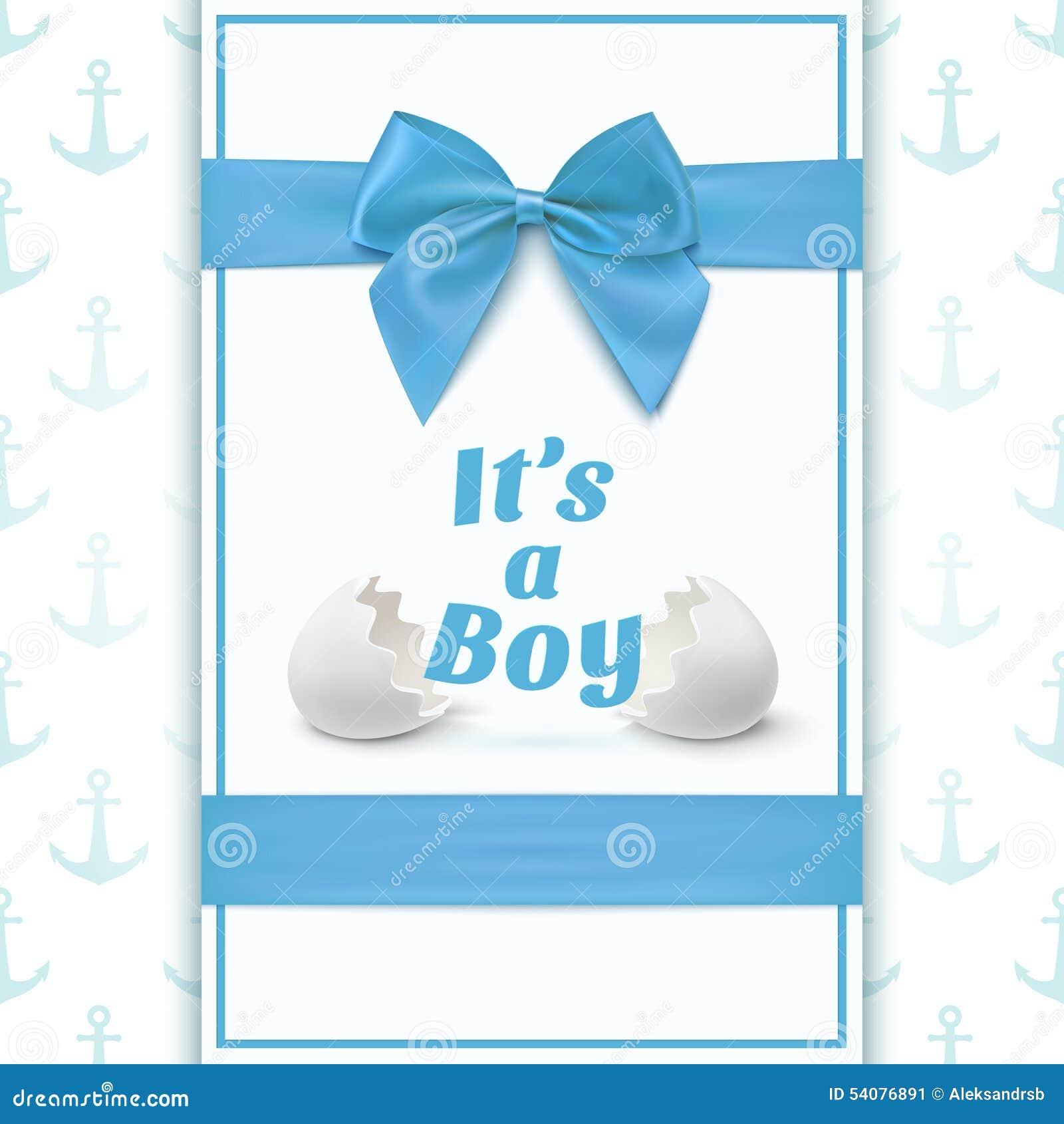 Zijn een jongen Malplaatje voor babydouche