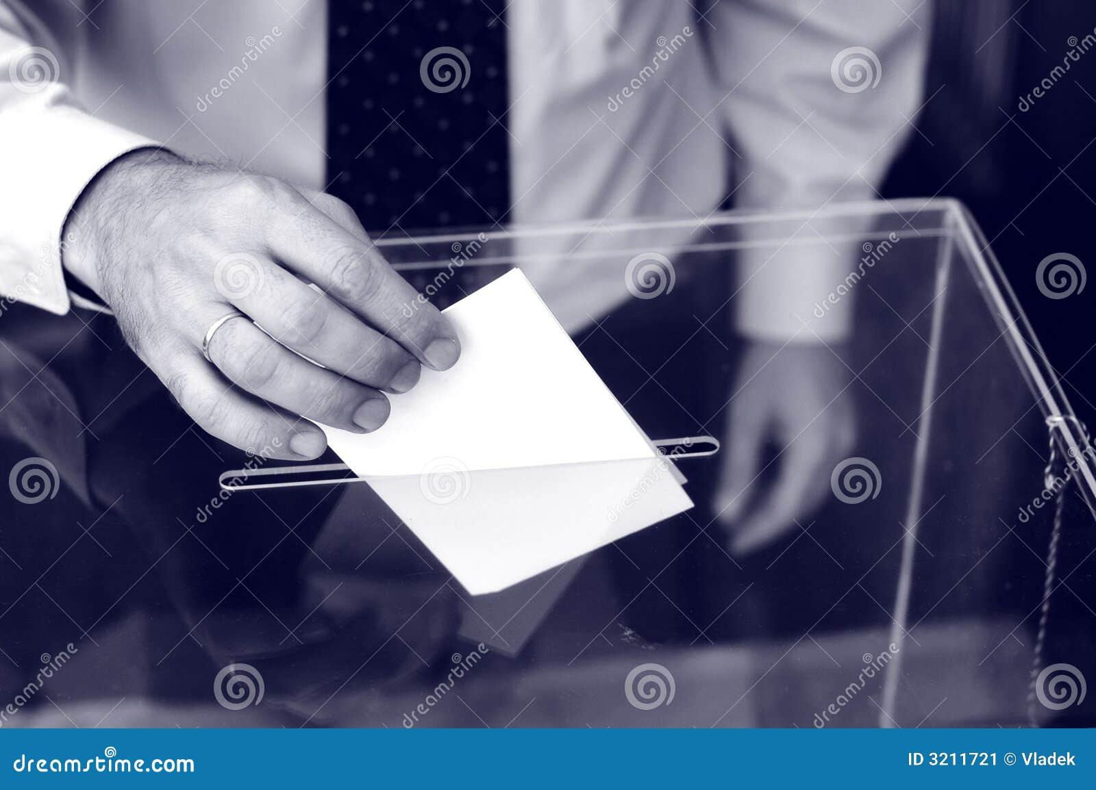 Zijn tijd voor verkiezingen