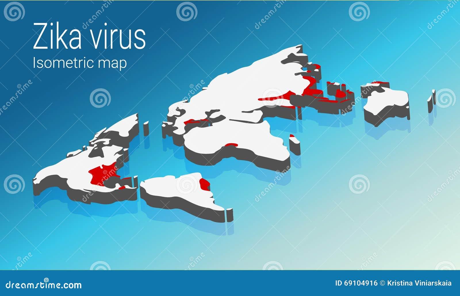 Zika Virus Infographic Include Transmission Worldwide. Isometric Map on japanese encephalitis map, yellow fever map, powassan virus map, west nile virus map,