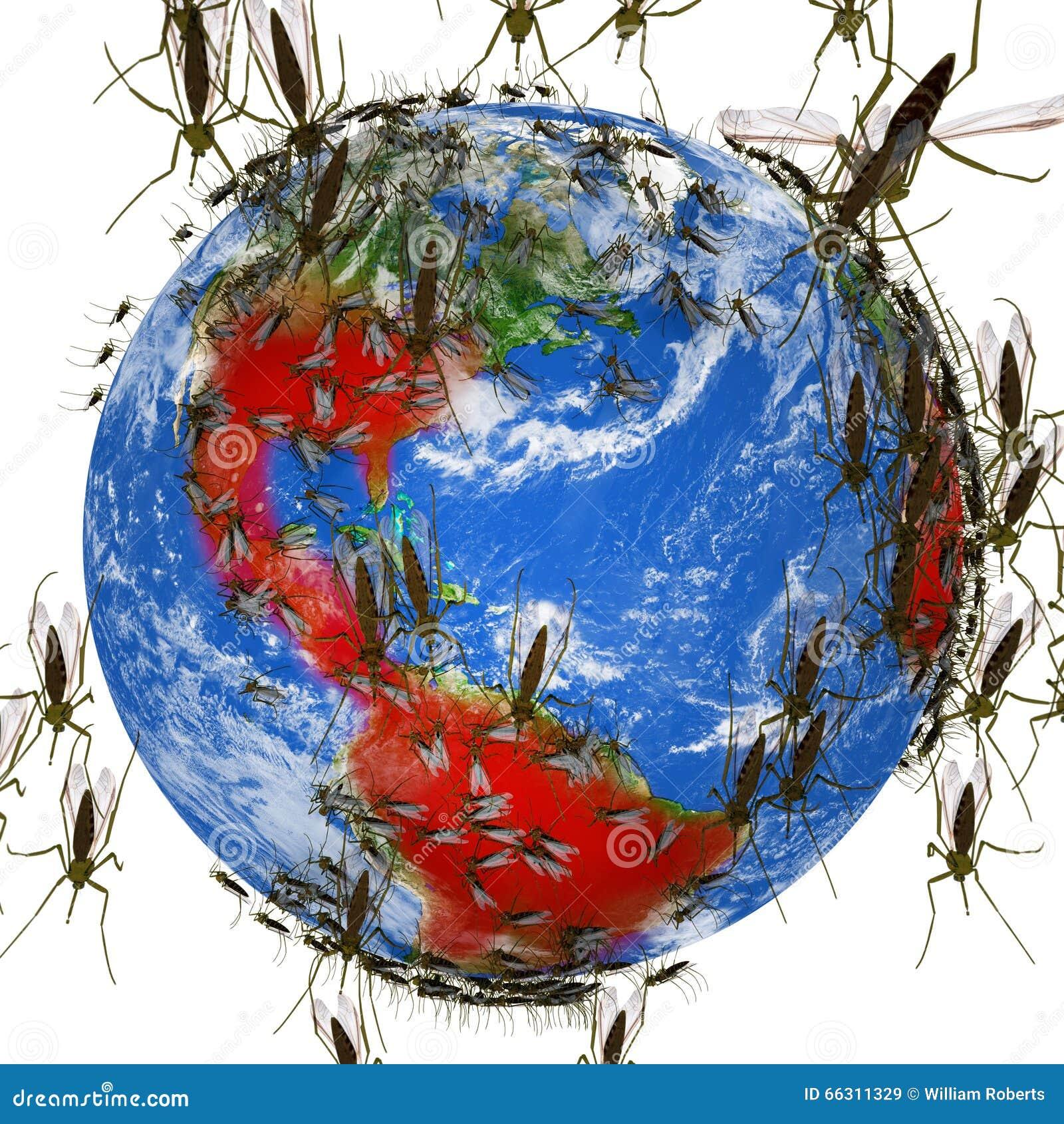 Zika virusspridningar globalt