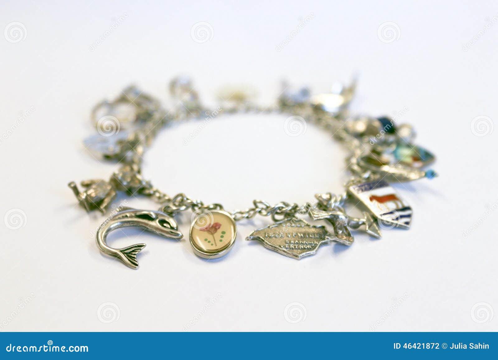 Zilveren charmearmband