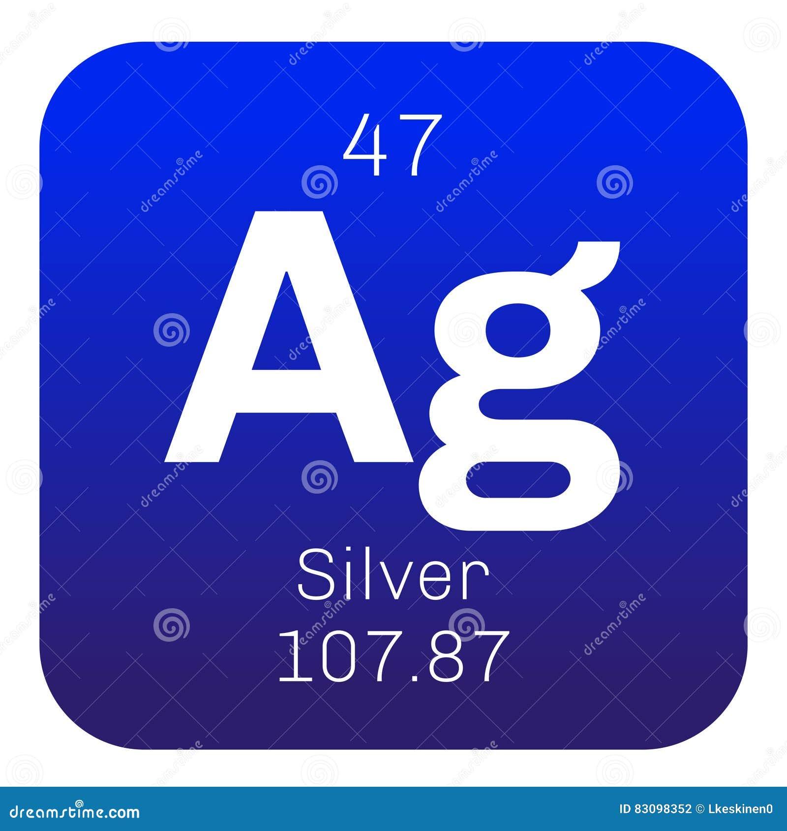Zilveren chemisch element