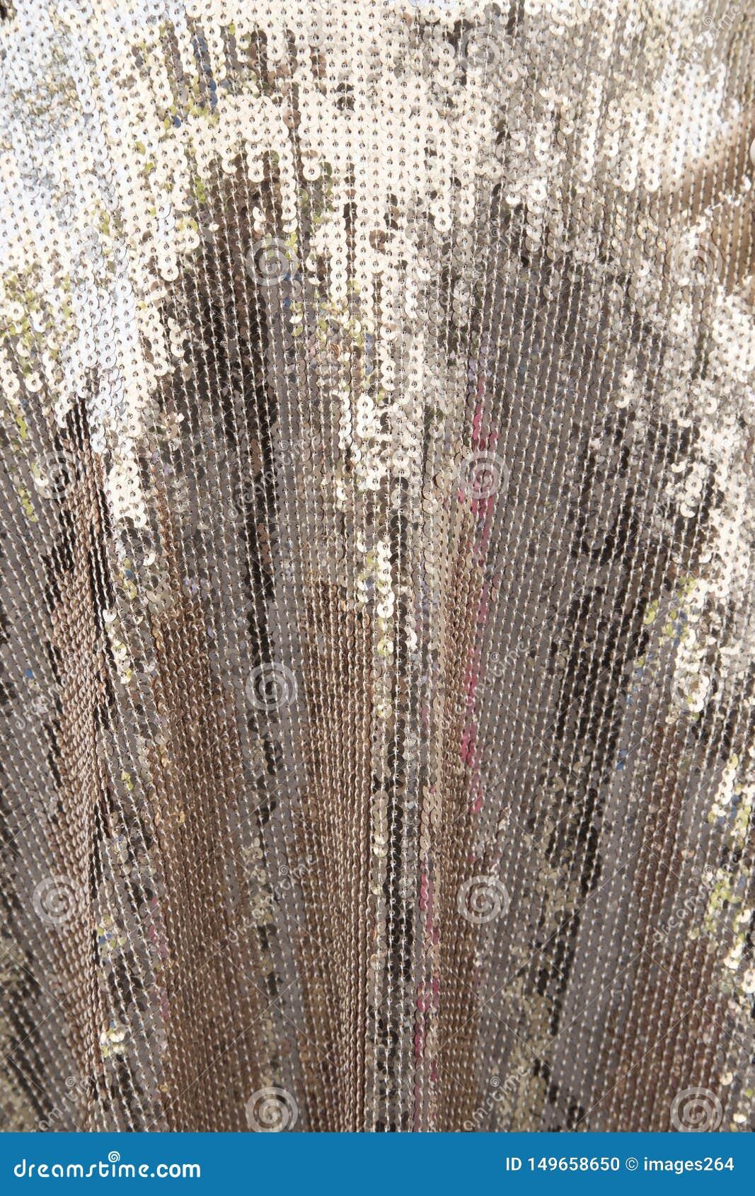 Zilveren glanzende textuur