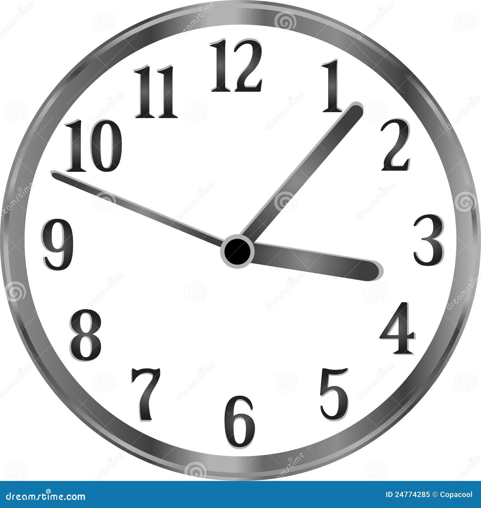 Zilveren klok tijd die jaar eenvoudig concept overgaat royalty vrije stock foto afbeelding - Klok cm ...