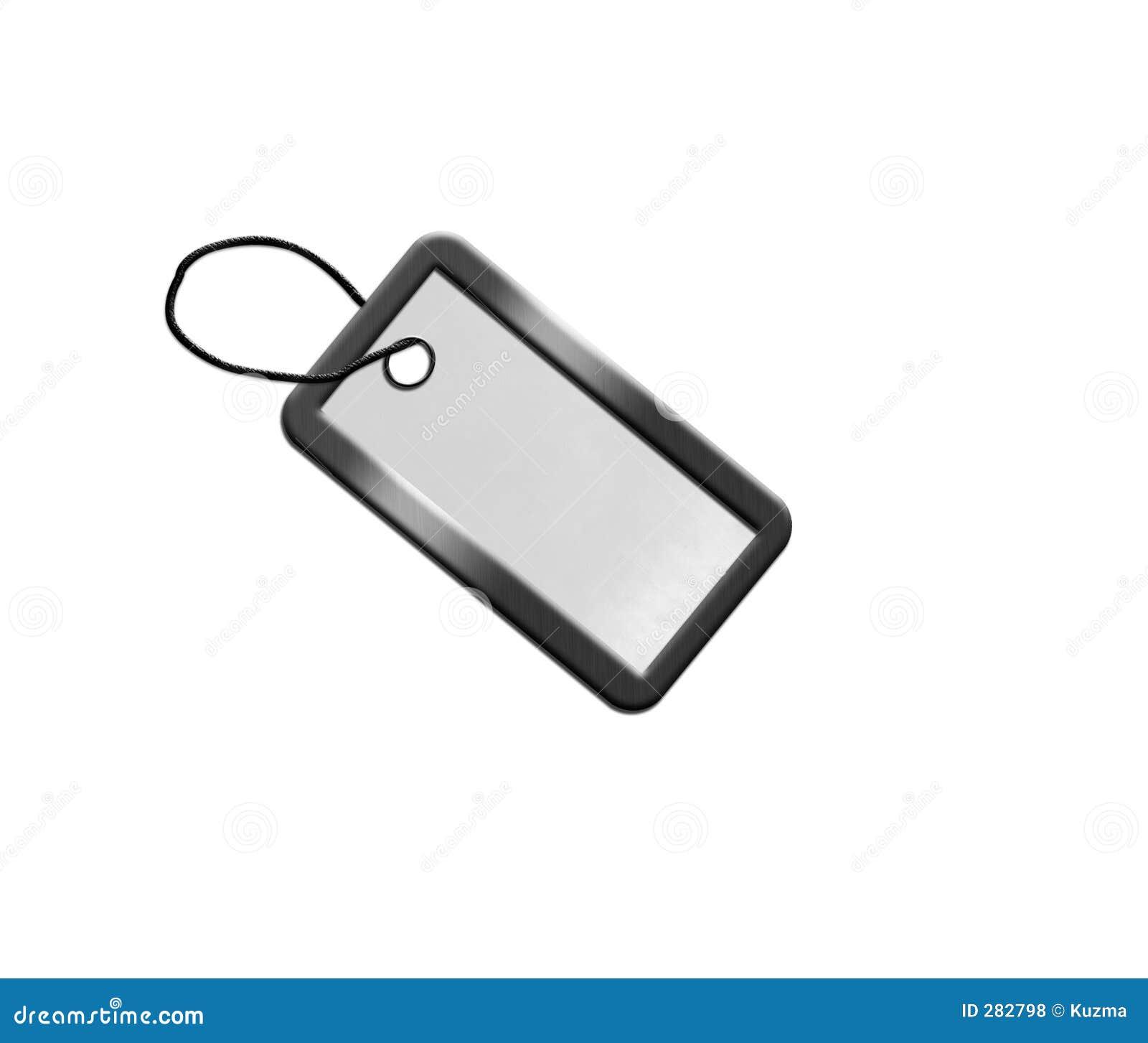 Zilveren spatie voor sleutel