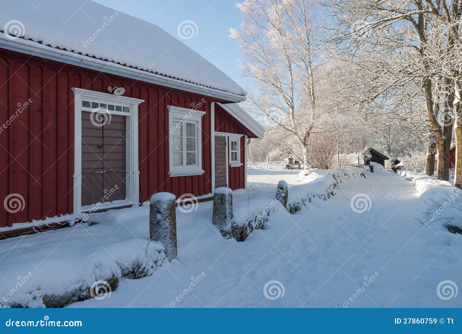 Zima chałupa