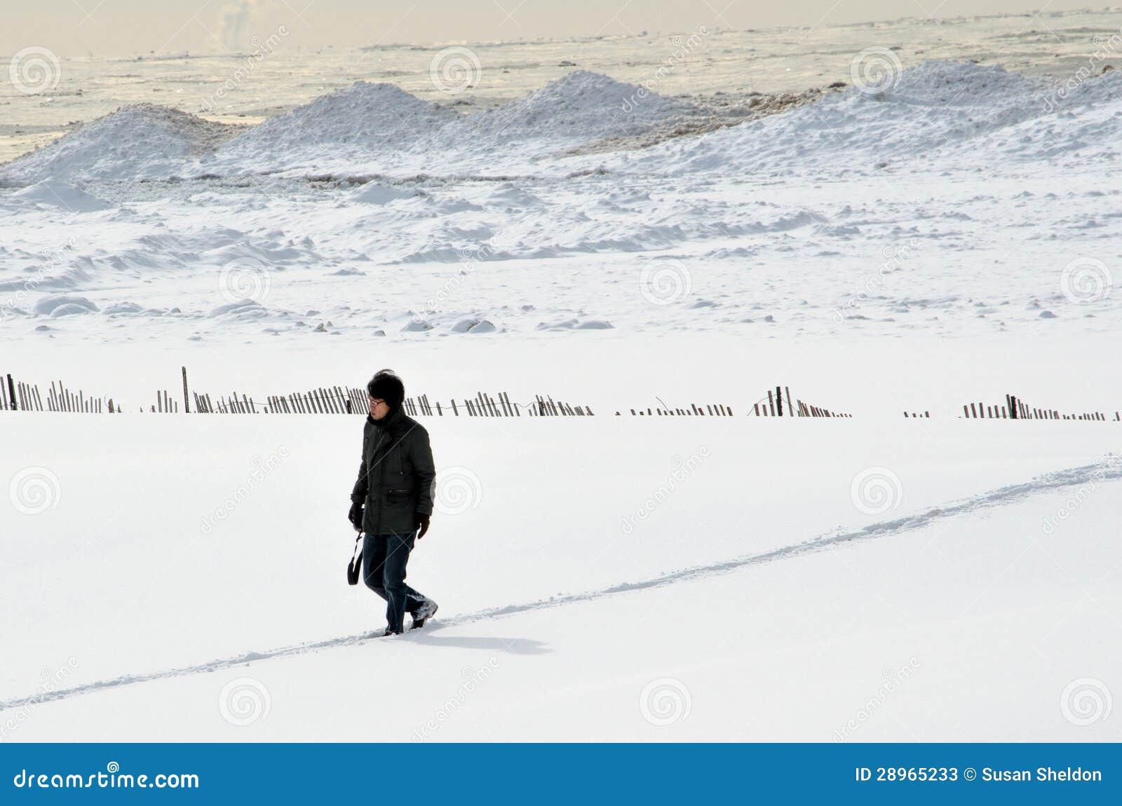Zima fotograf
