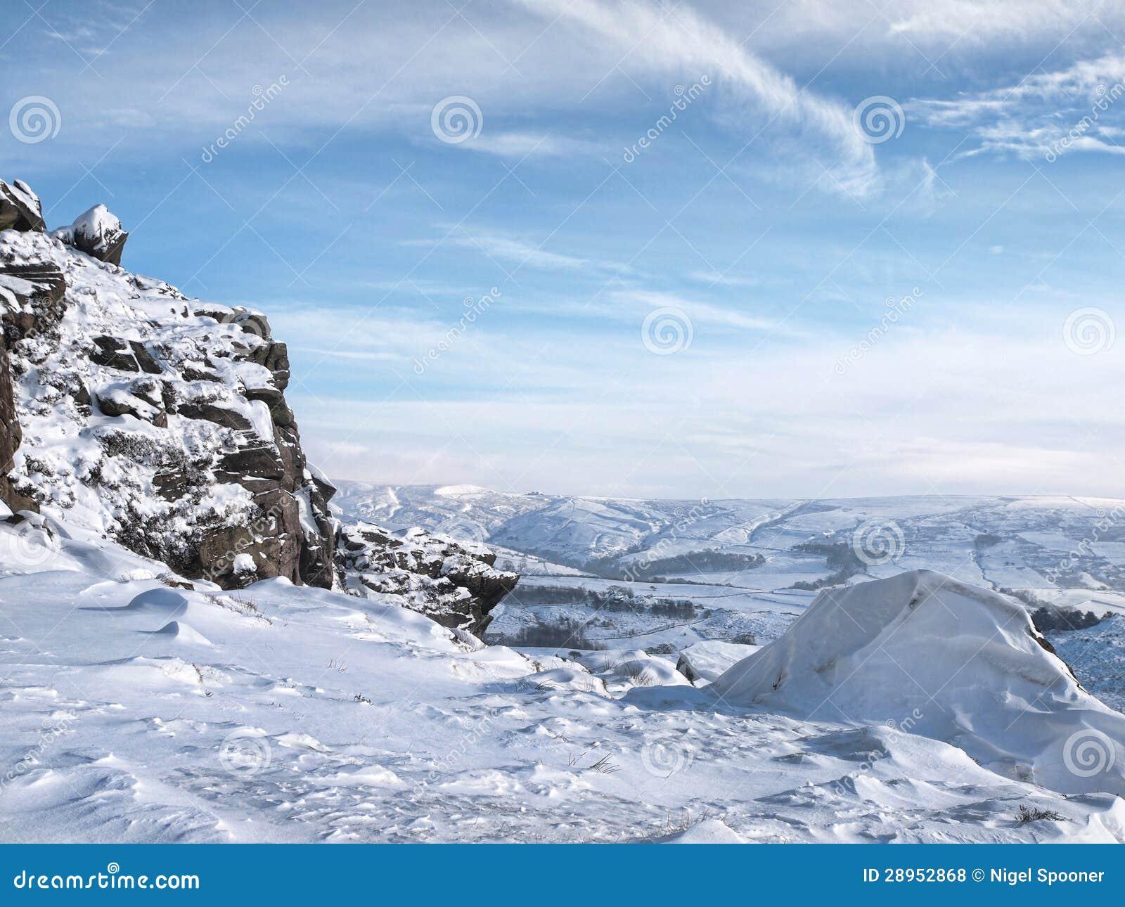 Zima krajobraz płocie