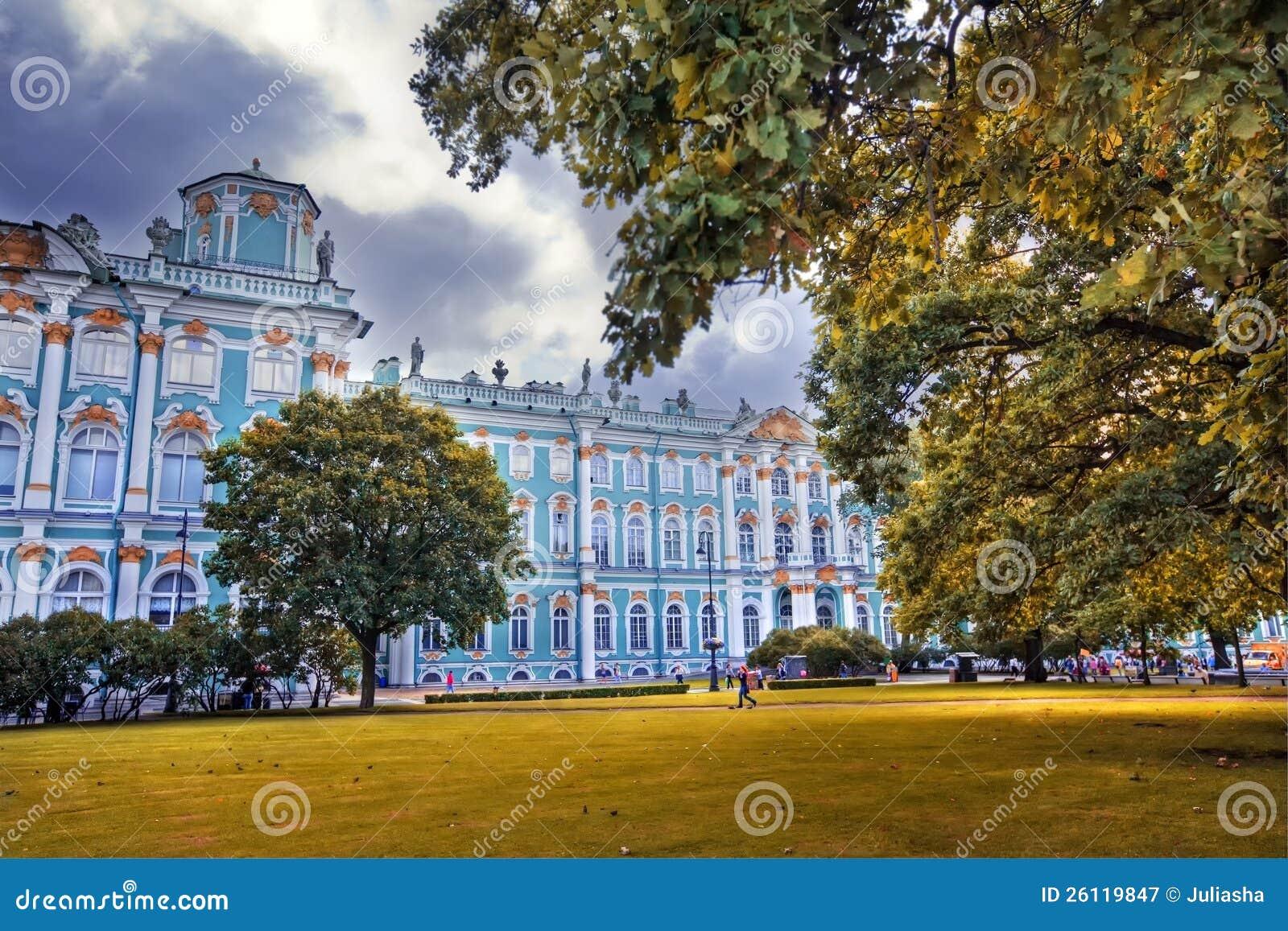 Zima pałac