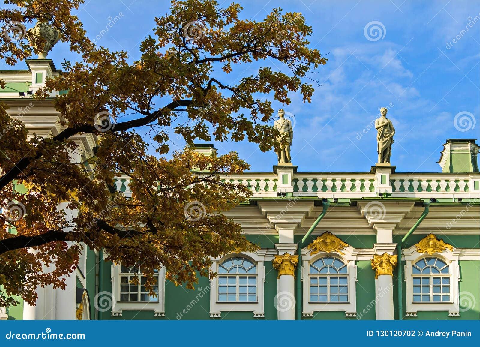 Zima pałac jest głównym Cesarskim pałac Rosja