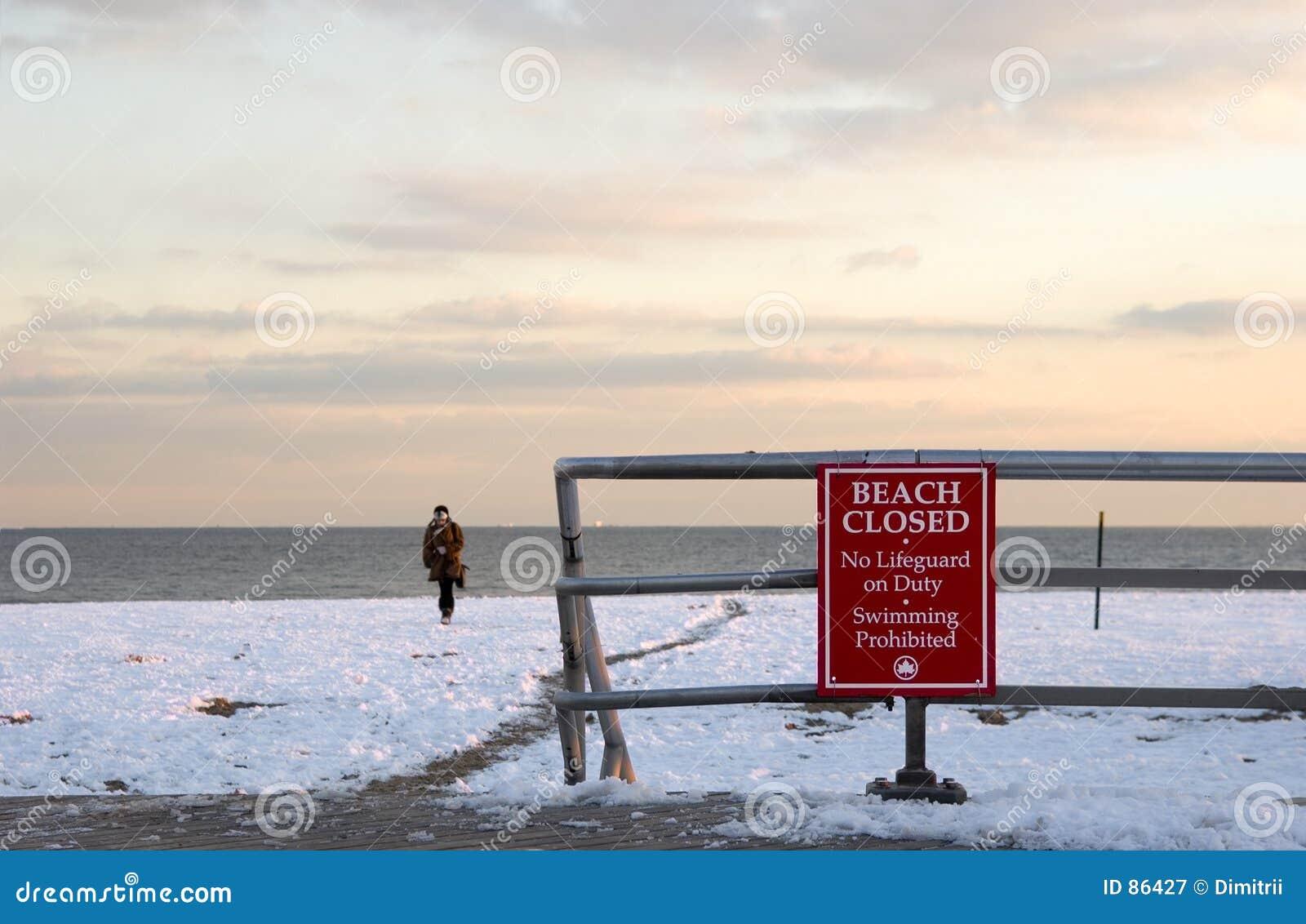 Zima plażowa