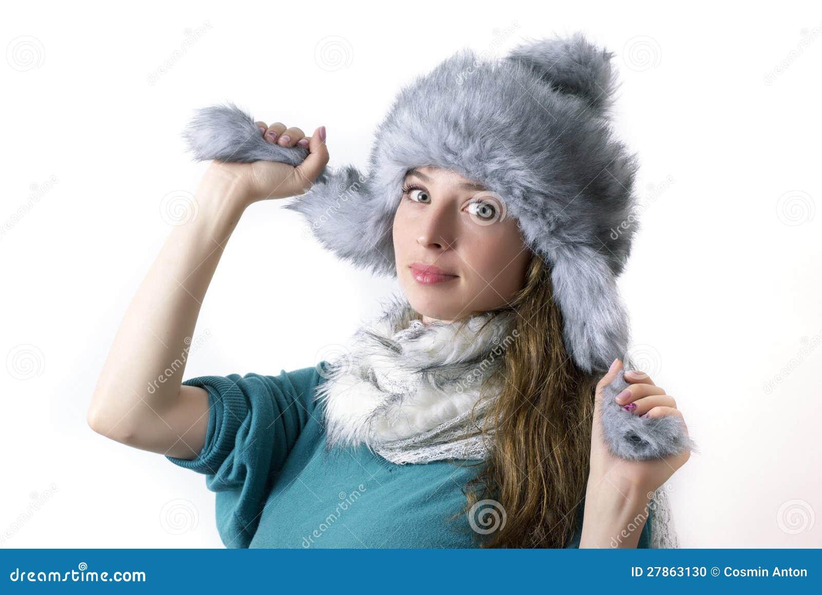 Zima portret