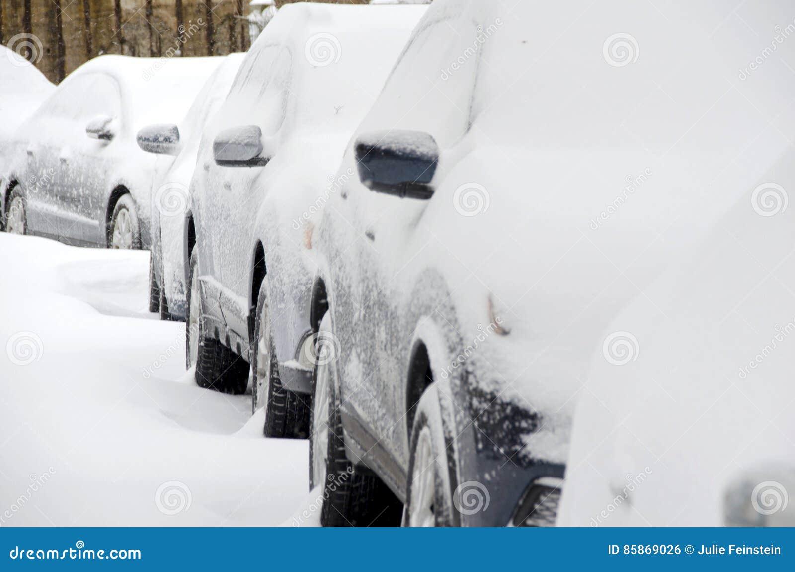 Zima samochody